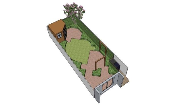 Cookham, 3 School Lane Cottages - Sketch Up - for website