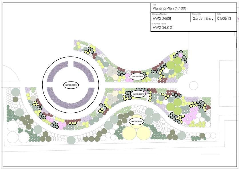 Planting Key Plan Example 2 Cropped Copy Garden Envy Ltd