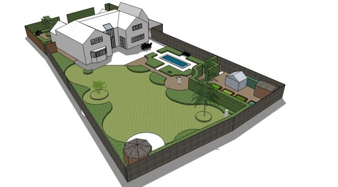 Project 2 Sketch Up Model for Website 1